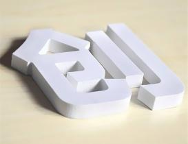 PVC平面字